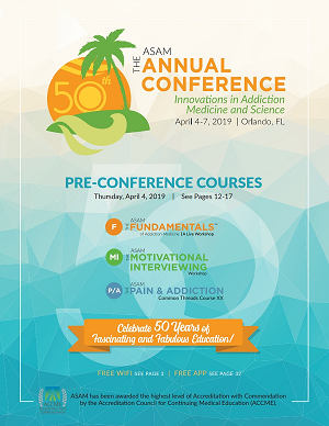 ASAM 50th Annual Conference