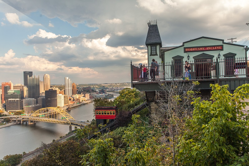 Skyline with Duquesne Incline