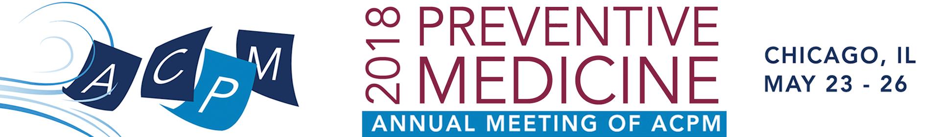 Preventive Medicine 2018