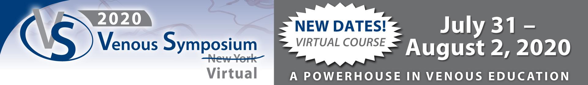 Venous Symposium Virtual (VSV) 2020