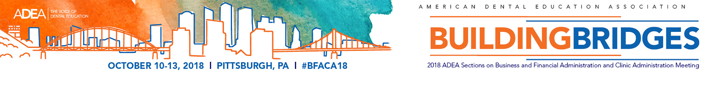 2018 ADEA BFACA Meeting Main banner
