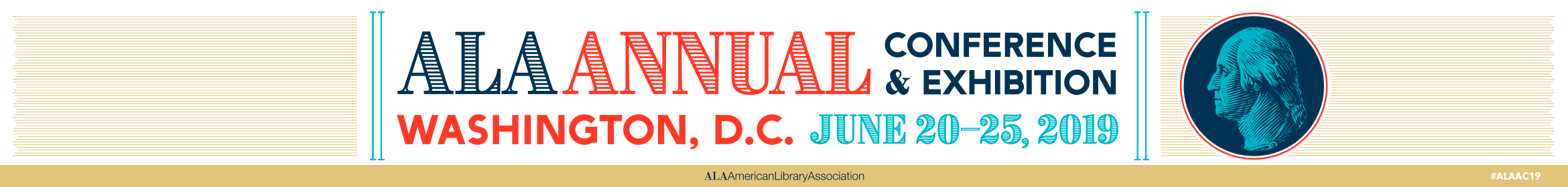 2019 ALA Annual Conference  Main banner