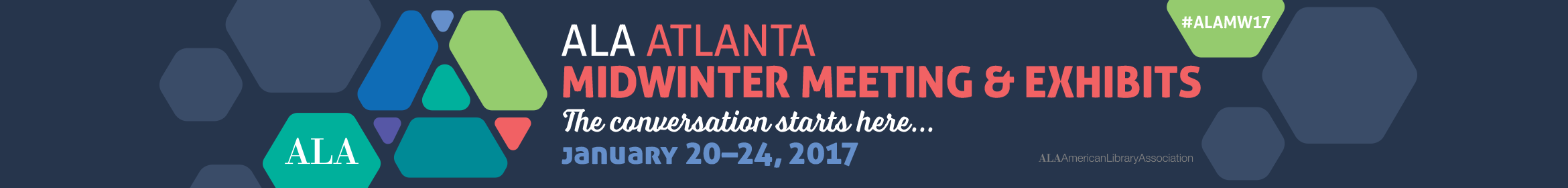 2017 ALA Midwinter Meeting Main banner