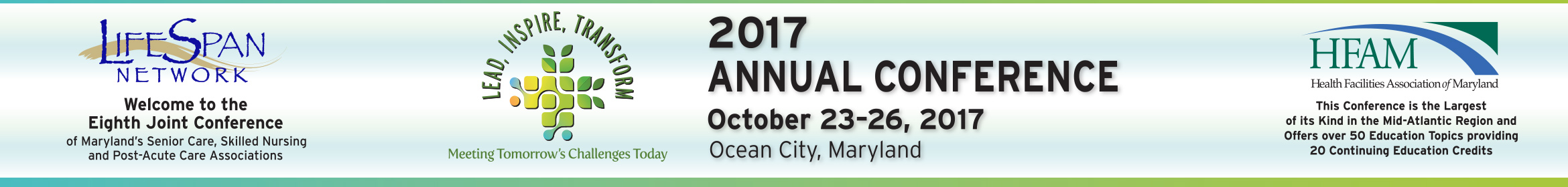 2017 LifeSpan/HFAM Joint Conference Main banner