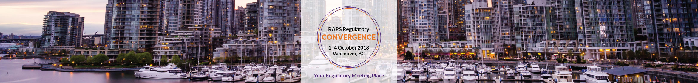 2018 RAPS Regulatory Convergence Main banner