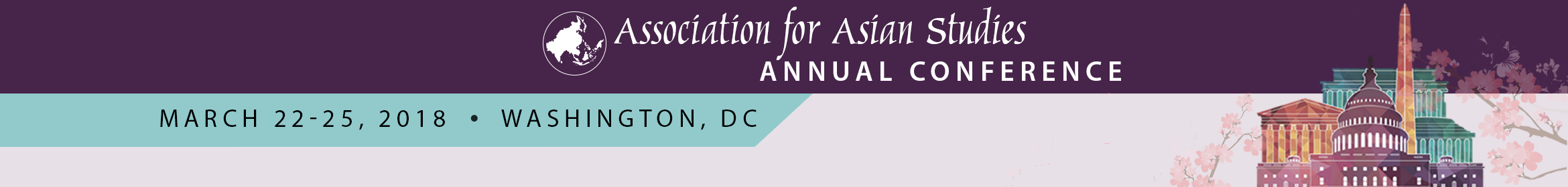 AAS 2018 Annual Conference Main banner