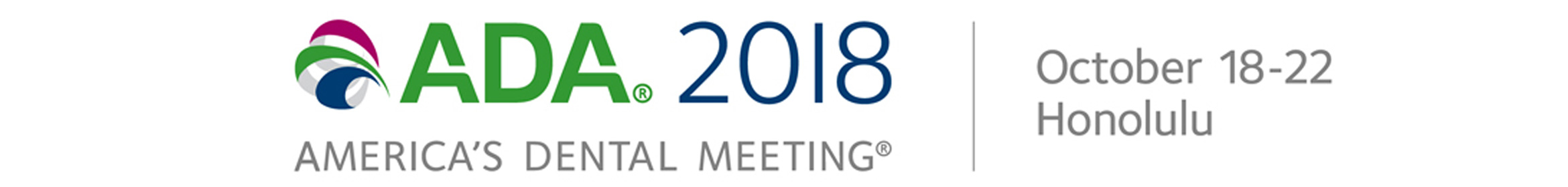 ADA 2018 Annual Meeting Main banner