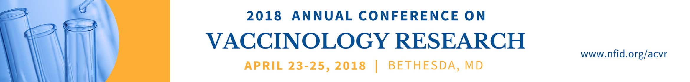 2018 Annual Conference on Vaccinology Research Main banner