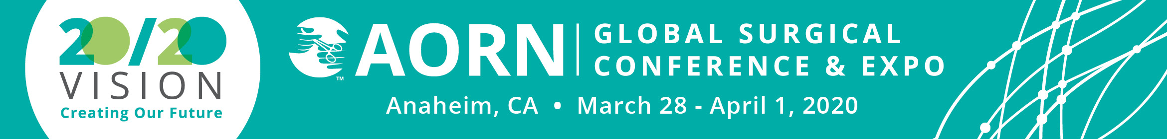 AORN Global Surgical Conference & Expo 2020 Main banner