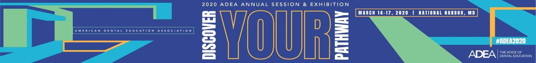 2020 ADEA Annual Session & Exhibition Main banner