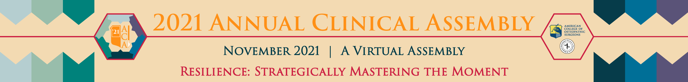 2021 Annual Clinical Assembly  Main banner