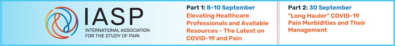 COVID-19 & Pain Virtual Programs - Part 1 & Part 2 Main banner