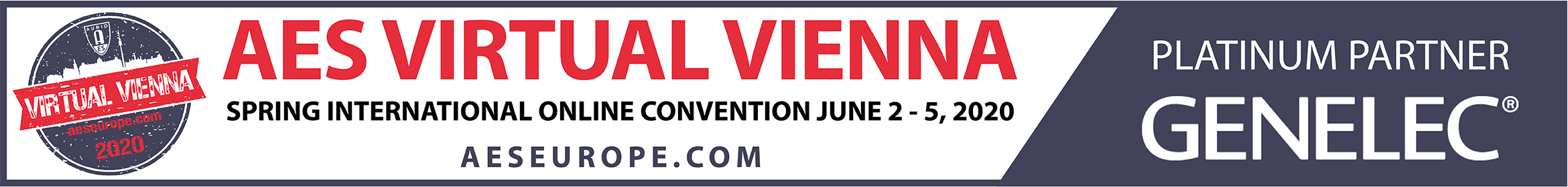 AES Virtual Vienna Convention Main banner