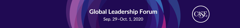 Global Leadership Forum Main banner