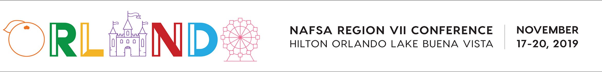 2019 NAFSA Region VII Conference Main banner