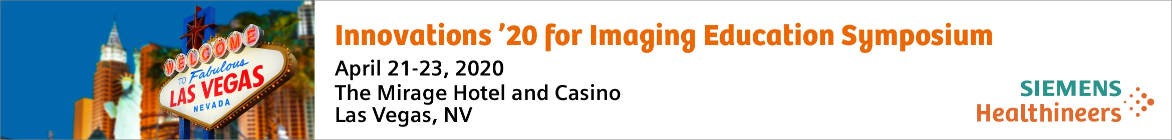 Innovations for Imaging 2020 - Professionals Main banner