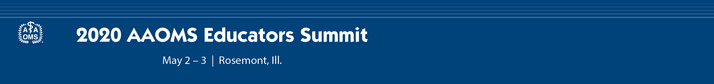 2020 Educators Summit  Main banner