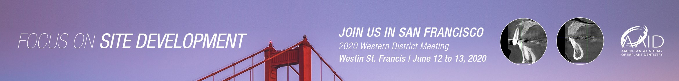 2020 Western District Meeting Main banner