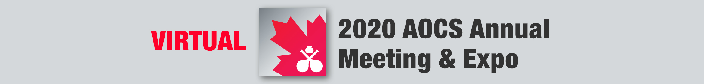 Virtual 2020 AOCS Annual Meeting & Expo Main banner