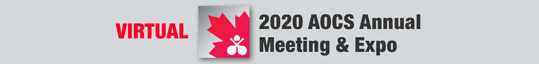 Virtual 2020 AOCS Annual Meeting & Expo Main banner