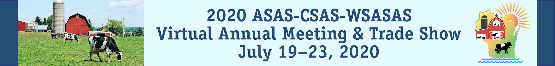 ASAS-CSAS-WSASAS 2020 Virtual Annual Meeting Main banner