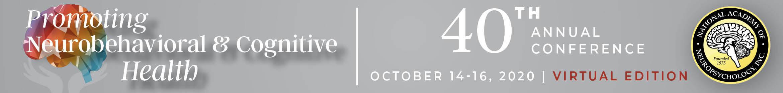 NAN 2020 Annual Conference | Virtual Edition Main banner