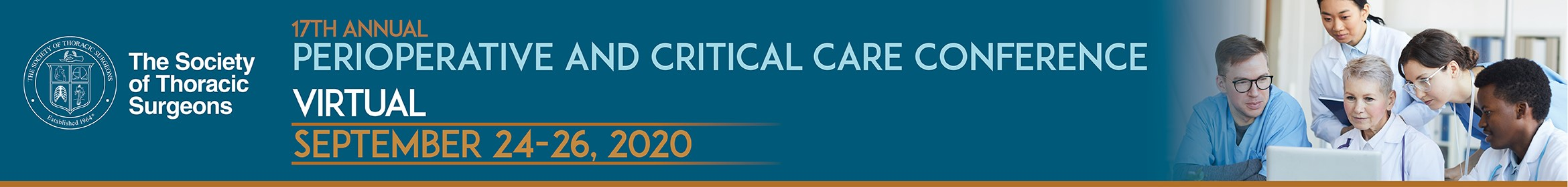 STS Perioperative and Critical Care Conference Main banner