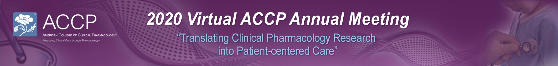 2020 Virtual ACCP Annual Meeting Main banner