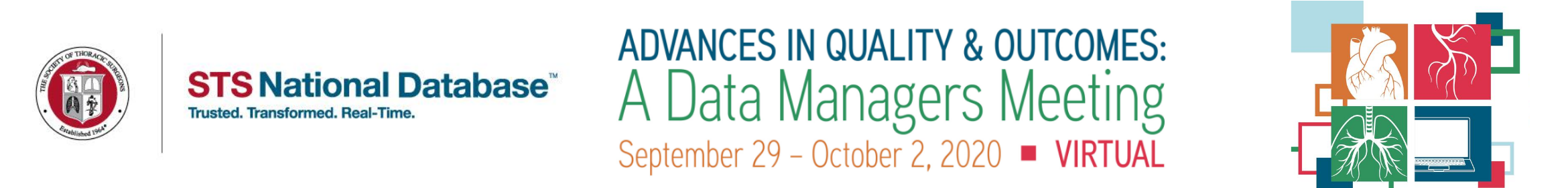 Advances in Quality & Outcomes: A Data Managers Meeting Main banner
