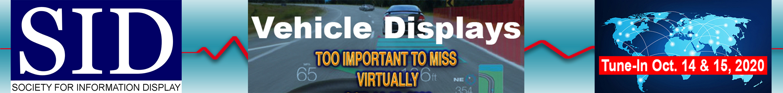 Vehicle Displays & Interfaces Symposium Main banner