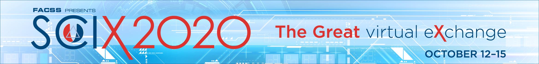 FACSS- SciX 2020 Main banner