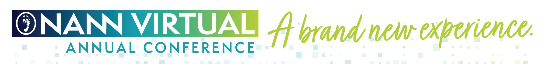 2020 NANN Virtual Annual Conference Main banner