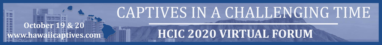 HCIC 2020 Virtual Forum Main banner
