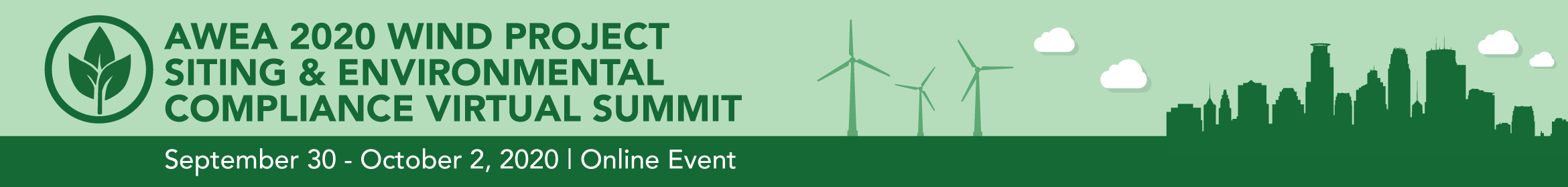 Wind Project Siting & Environmental Compliance 2020 Main banner