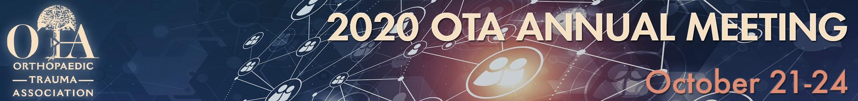 2020 OTA Virtual Annual Meeting Main banner