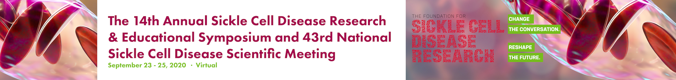 14th Annual Sickle Cell Disease Research & Educational Symposium & 43rd National SCD Scientific Mtg  Main banner