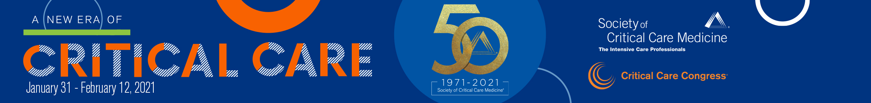 50th Critical Care Congress Main banner
