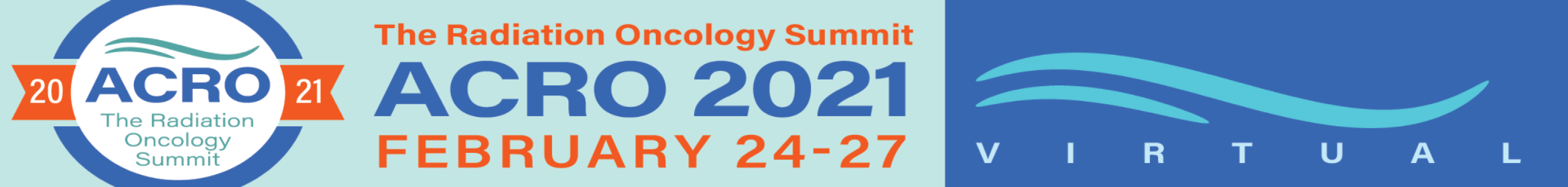 The Radiation Oncology Summit ACRO Annual Meeting 2021 Main banner