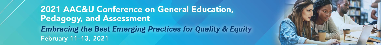 2021 General Education, Pedagogy, and Assessment Main banner