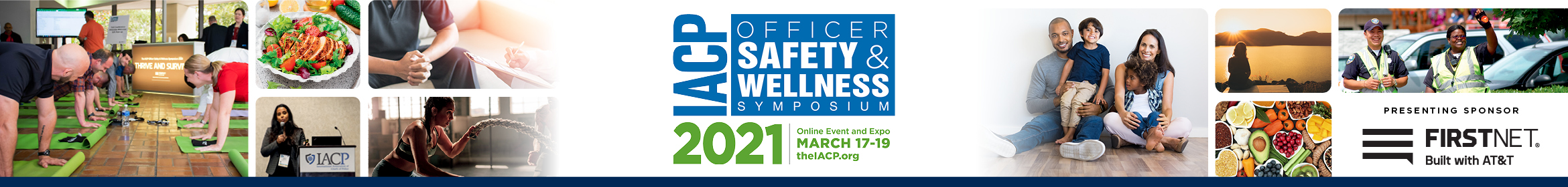 Officer Safety and Wellness Symposium 2021 Main banner