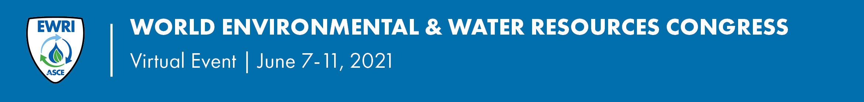 2021 EWRI Congress Main banner