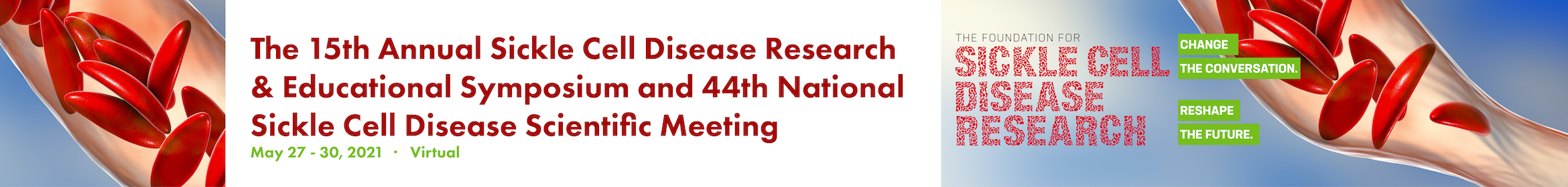 15th Annual Sickle Cell Disease Research & Educational Symposium & 44th National SCD Scientific Mtg  Main banner