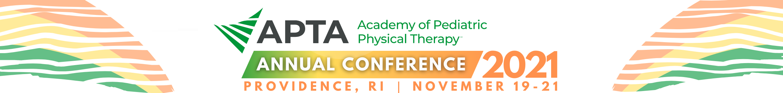 APTA Pediatrics Annual Conference 2021 Main banner