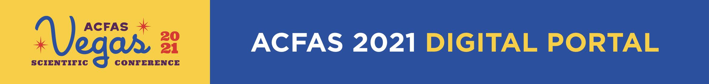 ACFAS 2021 Annual Meeting Main banner