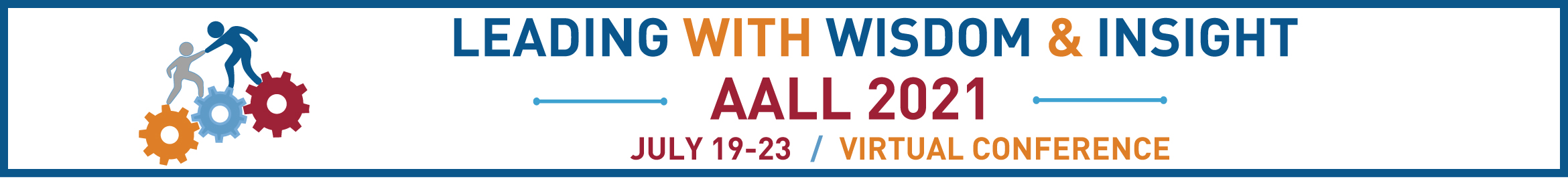 2021 AALL Virtual Conference Main banner