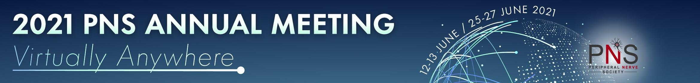 2021 PNS Annual Meeting - Virtually Anywhere Main banner