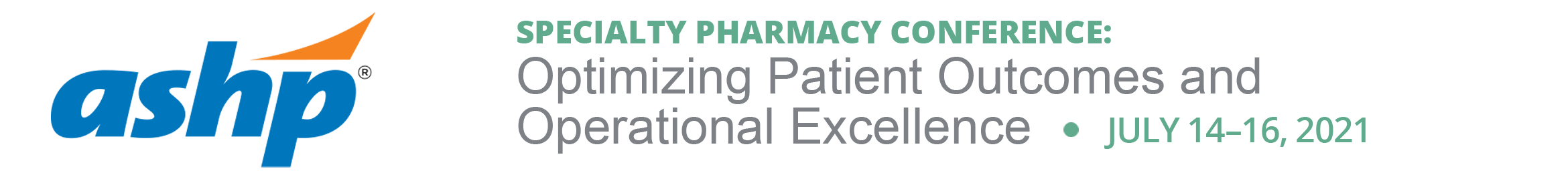 Specialty Pharmacy Conference Main banner