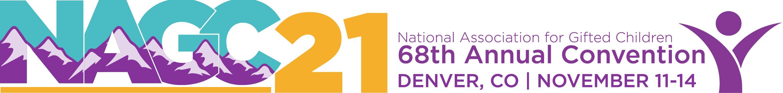 NAGC 68th Annual Convention Main banner
