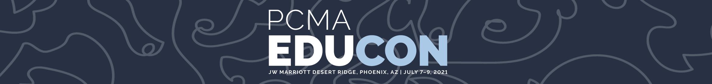 PCMA 2021 EduCon  Main banner