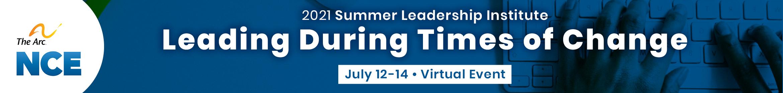 2021 Summer Leadership Institute Main banner